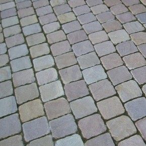 Multi Coloured Cobbles 100x100