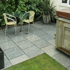 600x600mm silver granite pavers