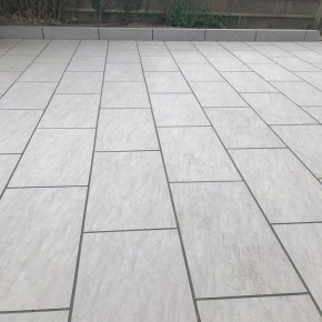 Grigio Grey porcelian paving 900x450 - 21.06 m2
