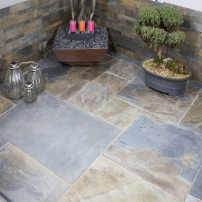 Rustic  Slate - 4 Sizes  Sawn  Edge - 18.9 m2
