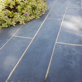 Black Limestone Linear Paving
