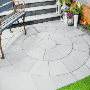 Sawn Grey-2.4 m2 Circle with SOK