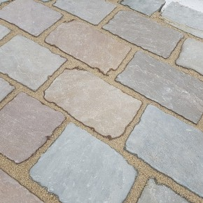 Raj Green Block Paving or Driveway Sets