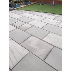 Textured Grey Single Size 600x900 Sawn Edge
