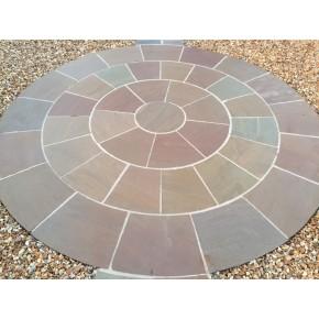 Autumn Blend- 2.4m Circle with SOK