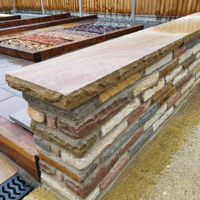 Multi colour coping stone 900x300