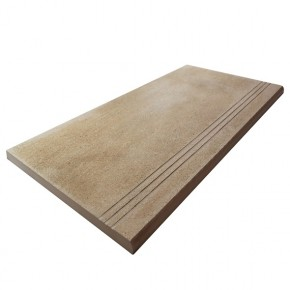 Bull Nose Steps 900x450x20mm - Riverside Mocha