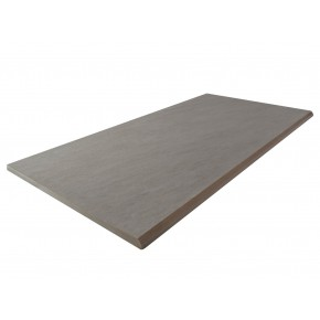 Bull Nose Steps 900x300x20mm - Grigio Porcelain