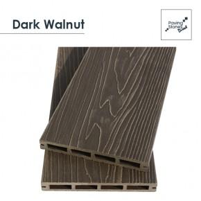 Dark Walnut Composite Decking