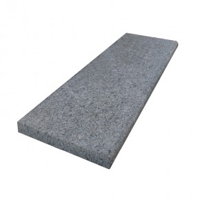 Bull Nose Steps 1000x350x30mm - Mid Grey Granite