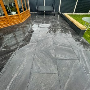 Marmo Anthracite Porcelain Paving Lifestyle 1200x600 Product Image