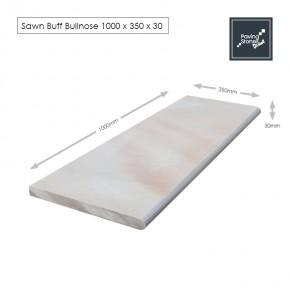 Sawn Buff 1000x350x30 Bullnose