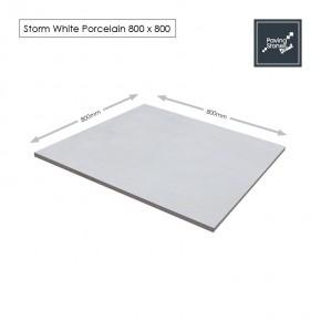 Storm White Porcelain 800x800
