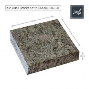 Ash Black Granite 100x100