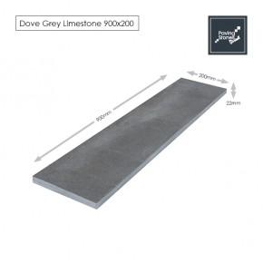 Dove Grey 900x200 Linear Paving