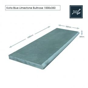 Bull Nose Steps 1000x350x30 mm - Kota Blue