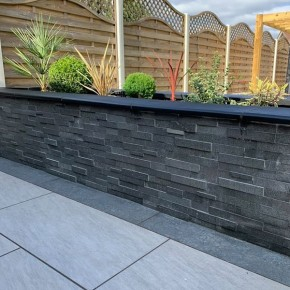 Absolute Black Granite Cladding