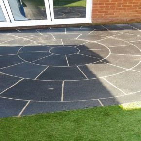 Black Limestone-3.0m Circle with SOK