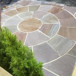 3 m2 Circle with SOK - Raj Green