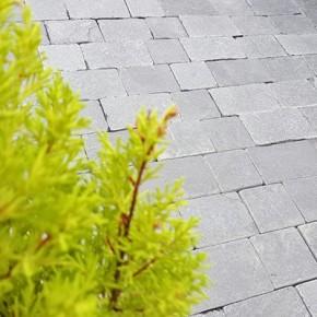 Charcoal Block Paving - Sample