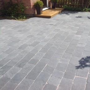 Charcoal Limestone Block Paving or Driveway Sets
