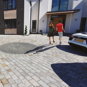 Silver Grey Block Paving