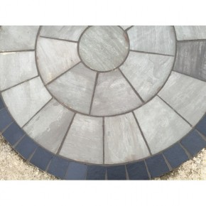 Silver Grey Circle