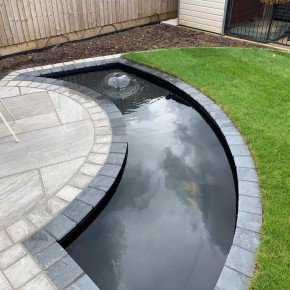 Brazilian Black Slate Setts