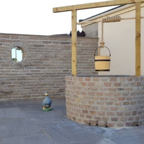 Walling and coping stones