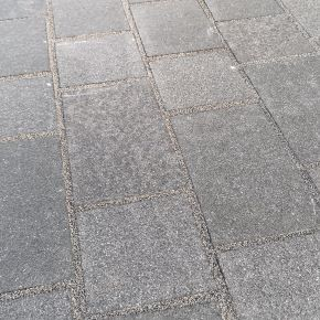 Black Granite Block Paving