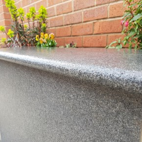 Mid Grey Granite 1000x350x30mm Wall Coping