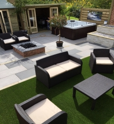 Porcelain Paving at Sheffield Botanical Gardens Home Show